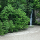 Landscape of Fast River and Waterfall in Georgia - VideoHive Item for Sale