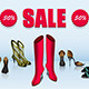 Shoe Sale - GraphicRiver Item for Sale