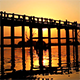 U Bein Wooden Bridge at Sunset 1 - VideoHive Item for Sale