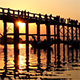 U Bein Wooden Bridge at Sunset 2 - VideoHive Item for Sale