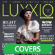Luxxio Fashion Magazine Cover - GraphicRiver Item for Sale