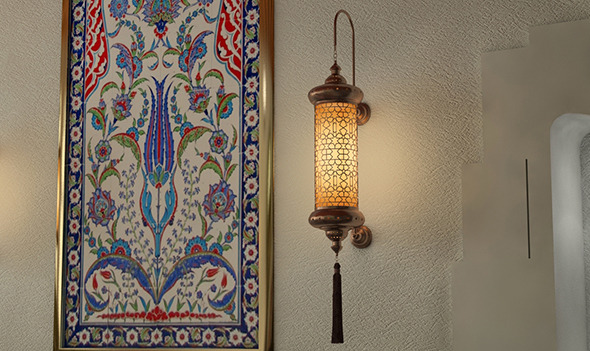 Ottoman Wall Lamp - 3DOcean Item for Sale