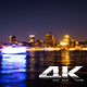 Hamburg Harbour, River Elbe and City Lights  - VideoHive Item for Sale
