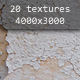 20 Eroded Material Textures (9 types) - GraphicRiver Item for Sale