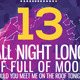 Lunar Party Poster / Flyer - GraphicRiver Item for Sale