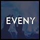Eveny - Events, Music & Gallery WordPress Theme Nulled