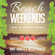 Beach Weekend - GraphicRiver Item for Sale