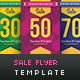 Sale Flyer Template - GraphicRiver Item for Sale