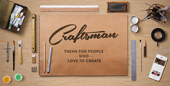 Craftsman | WordPress Craftsmanship Theme - Retail WordPress