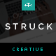 Struck - A Responsive Creative WordPress Theme Nulled