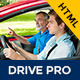 Drive Pro : Driving School HTML Template Nulled