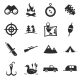 Hunting Icons - GraphicRiver Item for Sale