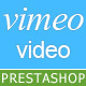Responsive Vimeo Video Import to Prestashop