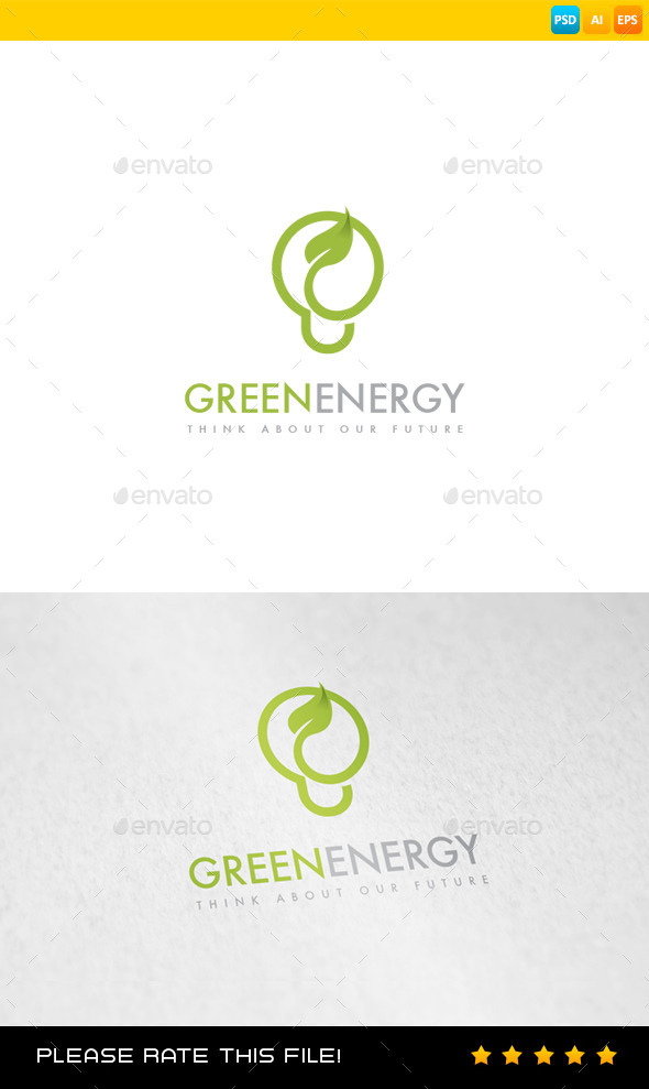 Energy Logo - Nature Logo Templates