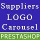 Responsive Suppliers logo carousel