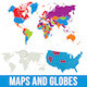 World Maps & Globes - GraphicRiver Item for Sale