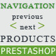 Prestashop Module Navigation Previous and Next Category Product