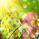 8 Easter Backgrounds - GraphicRiver Item for Sale