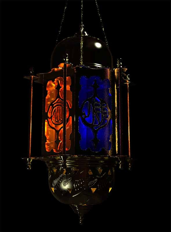 Moroccan/Persia styled Lantern - 3DOcean Item for Sale
