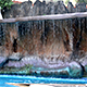 Small Waterfall in the Swimming Pool - VideoHive Item for Sale