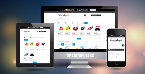 SP Listing Tabs - Responsive Prestashop Module - CodeCanyon Item for Sale
