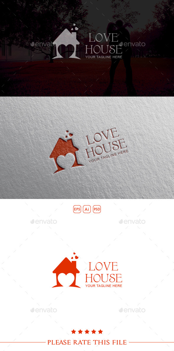 House Logo - Vector Abstract