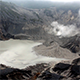 Sulfur Volcano Crater and Smoke - VideoHive Item for Sale