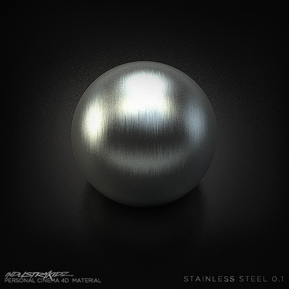 Stainless Steel - 3DOcean Item for Sale