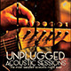 Unplugged Acoustic Sessions Flyer - GraphicRiver Item for Sale