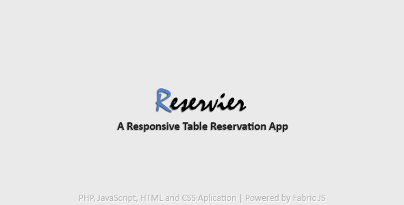 Reservier - CodeCanyon Item for Sale