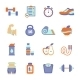 Fitness Icons  - GraphicRiver Item for Sale
