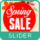 Spring Sale Slider - GraphicRiver Item for Sale