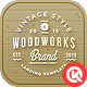 Woodworks - Responsive Bootstrap App Landing page Nulled