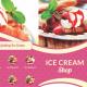 Trifold Ice Cream Menu Template - GraphicRiver Item for Sale