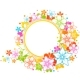 Floral colorful frame - GraphicRiver Item for Sale