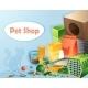 Pet Shop Concept - GraphicRiver Item for Sale