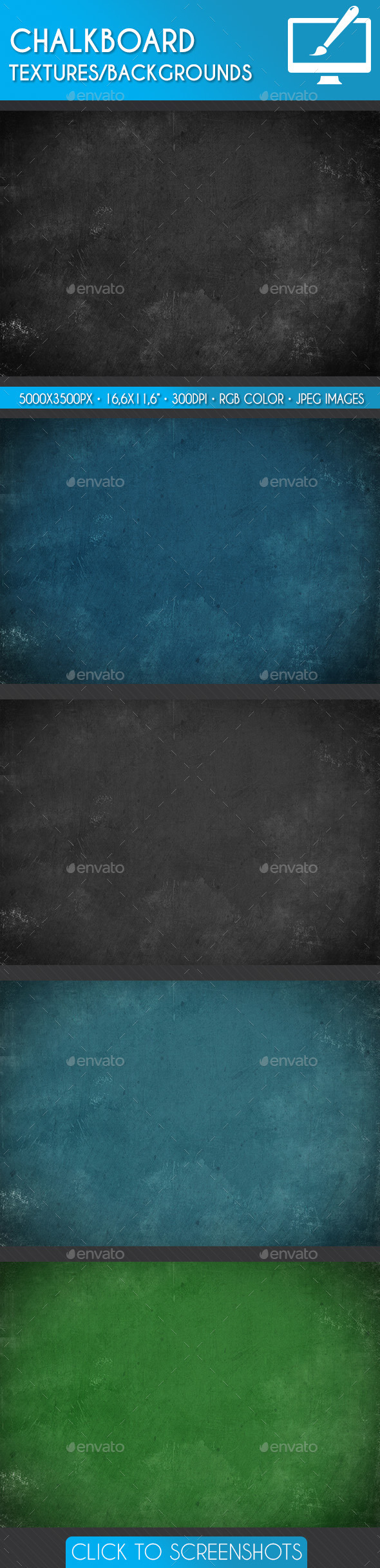 Chalkboard Textures/Backgrounds - Miscellaneous Textures