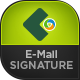 Email E-Signature Templates - 10 Designs - GraphicRiver Item for Sale