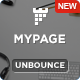 MyPage - Multi-Sections Parallax Unbounce Template - ThemeForest Item for Sale
