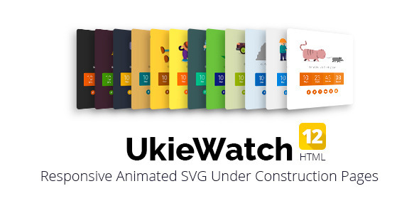 UkieWatch – Responsive Animated Templates
