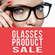 Glasses Product Sale - GraphicRiver Item for Sale