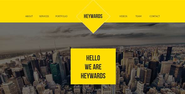 Heywards – Multi-purpose Muse Template