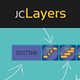 Easy Layers Tools, Editing, Mounting for Workflow