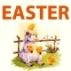 Easter Watercolor Collection with Animals - GraphicRiver Item for Sale