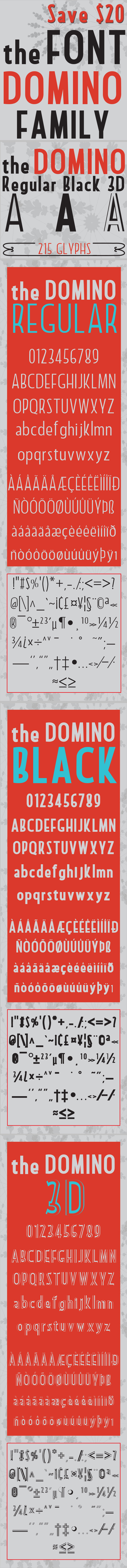 Domino Font