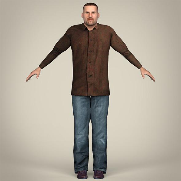 Handsome Man - 3DOcean Item for Sale