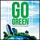 Go Green Bi-Fold Brochure - GraphicRiver Item for Sale