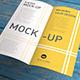 DL | Flyer | Brochure | Leaflet | Bi-Fold Mock-Up - GraphicRiver Item for Sale