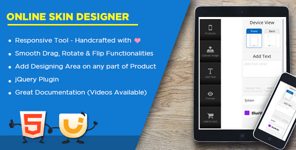 Custom Skin and Case Creator - Laptop | Mobile | Gaming Console - CodeCanyon Item for Sale