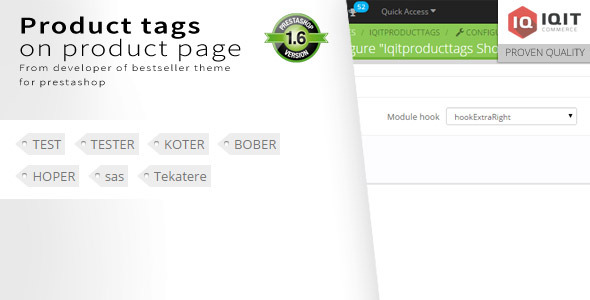 Products tags block on product page - CodeCanyon Item for Sale